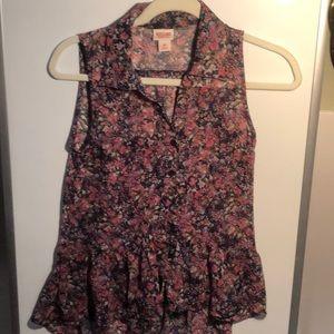 Mossimo size S beautiful new  sleeveless tunic